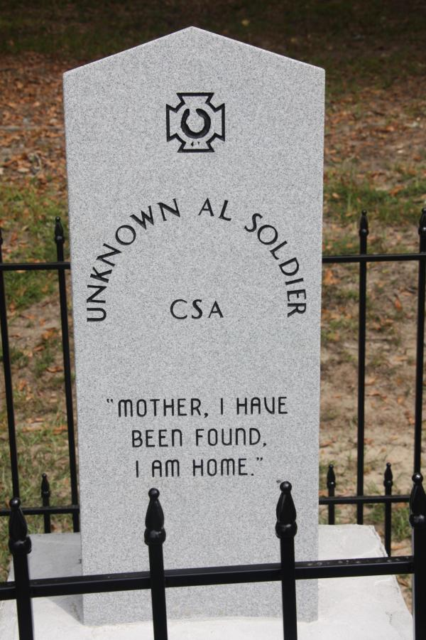 A new Confederate monument was unveiled Sunday afternoon in Crenshaw County. (Connor Sheets | csheets@al.com)